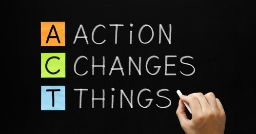 The Importance of Taking Action -