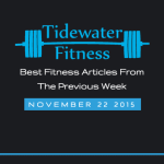 Best Fitness Articles From The Previous Week: November 22 2015