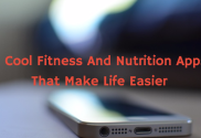 fitness and nutrition apps