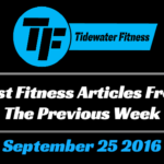 Best Fitness Articles From The Previous Week: September 25 2016