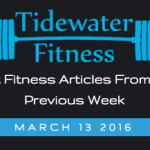 Best Fitness Articles From The Previous Week: March 13 2016