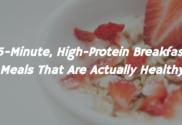 high-protein breakfast meals