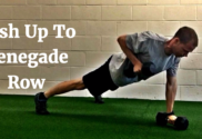 push up to renegade row