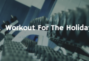 workout for the holidays