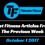 Best Fitness Articles From The Previous Week: October 1 2017