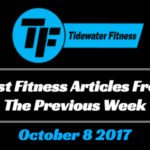 Best Fitness Articles From The Previous Week: October 8 2017