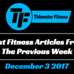 Best Fitness Articles From The Previous Week: December 3 2017